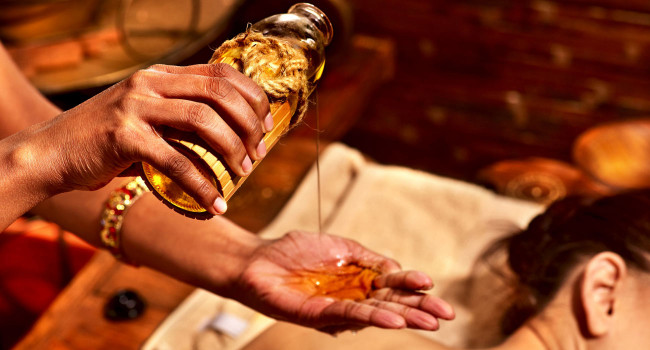 Olii essenziali per il massaggio